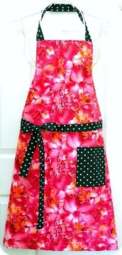 Couverture Apron Fiery Wildflowers