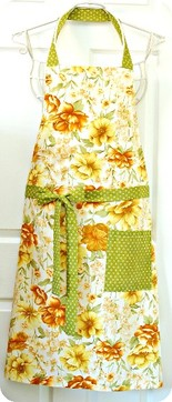 Couverture Apron Flowers Bloom